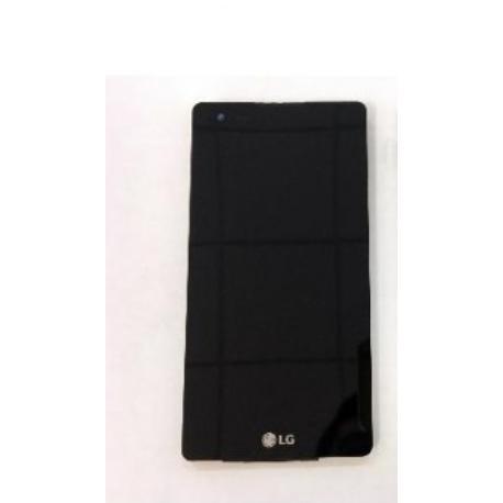 PANTALLA LCD DISPLAY + TACTIL CON MARCO PARA LG X STYLE K200 - NEGRA