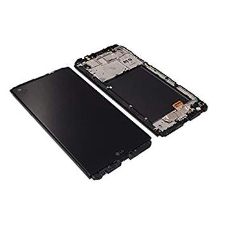 PANTALLA LCD DISPLAY + TACTIL CON MARCO PARA LG V20 - NEGRA
