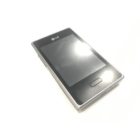 PANTALLA COMPLETA CON MARCO ORIGINAL LG E400 L3 NEGRA - RECUPERADA