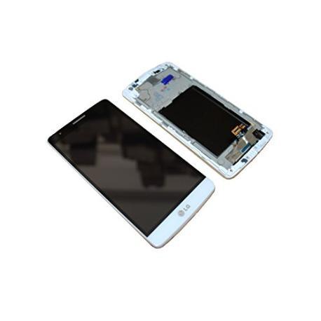 PANTALLA LCD DISPLAY + TACTIL CON MARCO PARA LG G3 MINI D722 - BLANCA