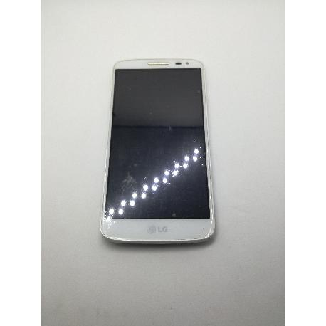 PANTALLA LCD + TÁCTIL CON MARCO ORIGINAL LG G2 MINI D620  BLANCO - RECUPERADO