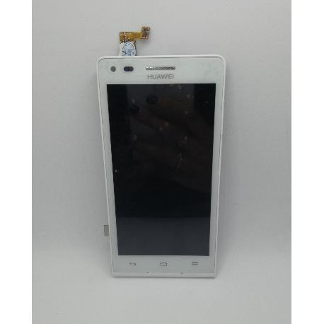 REPUESTO PANTALLA TACTIL + LCD CON MARCO PARA HUAWEI G6 - BLANCO