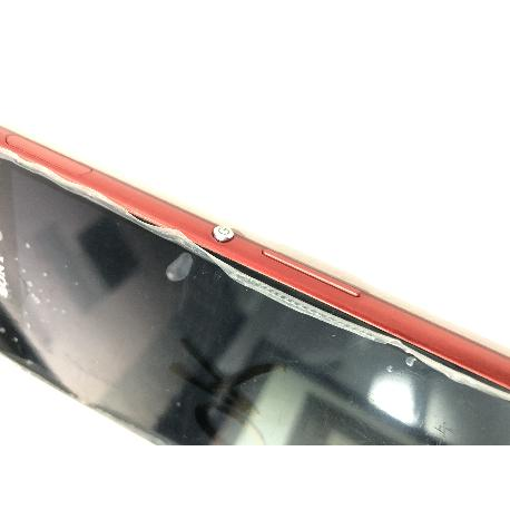 REPUESTO PANTALLA LCD + TACTIL CON MARCO SONY XPERIA M4 AQUA E2303 - PLATA / DESMONTAJE