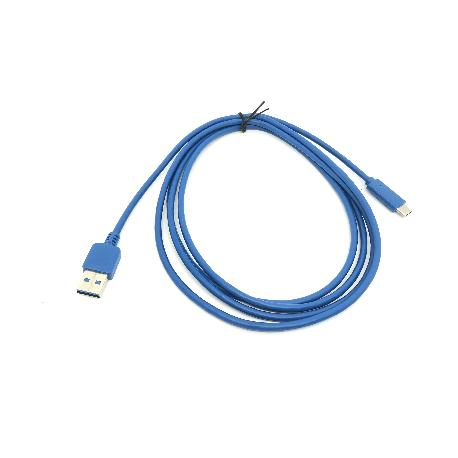 CABLE USB - TIPO C 3.1 / USB 3.0 AZUL 2M