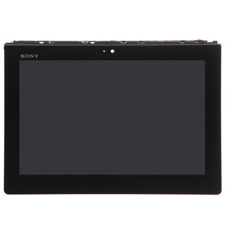 PANTALLA LCD DISPLAY + TACTIL PARA TABLET SONY XPERIA S - NEGRA USADA