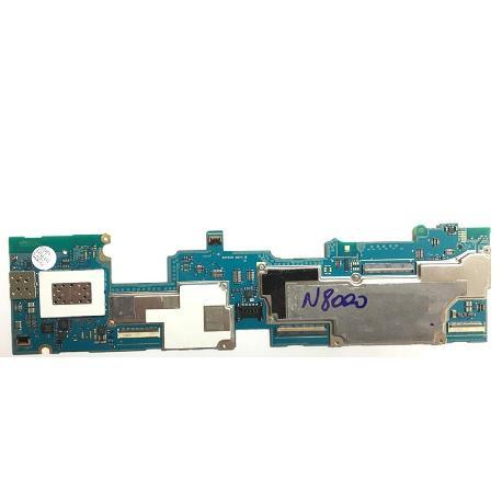 PLACA BASE ORIGINAL TABLET SAMSUNG GALAXY NOTE 10.1 N8000 3G CON SIM - RECUPERADA