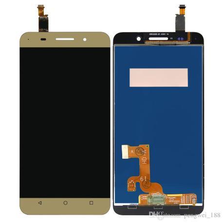 REPUESTO PANTALLA LCD + TACTIL PARA HUAWEI HONOR 4X - ORO