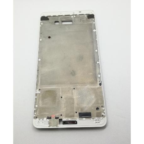 CARCASA FRONTAL DE LCD PARA HUAWEI MATE 9 - BLANCA