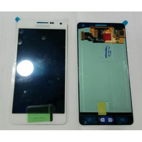 PANTALLA LCD + TACTIL ORIGINAL SAMSUNG GALAXY A5 A500F SM-A500FU BLANCA - RECUPERADA