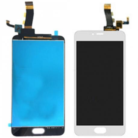 PANTALLA LCD DISPLAY + TACTIL PARA MEIZU M5 - BLANCA