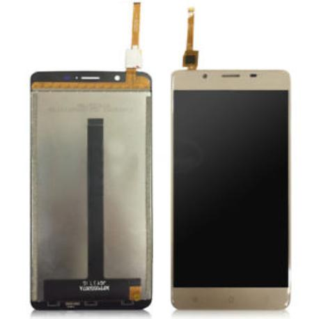 PANTALLA LCD Y TACTIL PARA BLACKVIEW P2, P2 LITE - DORADA