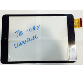 "Repuesto Pantalla Táctil Tablet 8"" Unusual TB-U8Y , Spc Glow 8 Quad Core Version 2.1 Negra"