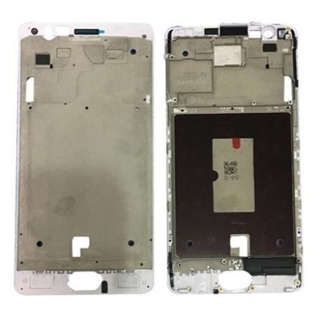 CARCASA FRONTAL DE LCD PARA ONEPLUS 3T - BLANCA