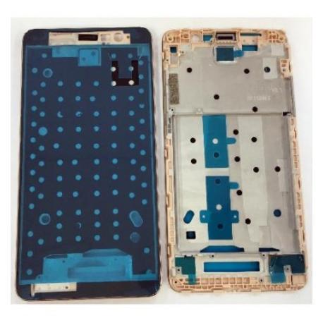 CARCASA FRONTAL DE LCD PARA XIAOMI REDMI NOTE 3 - ORO