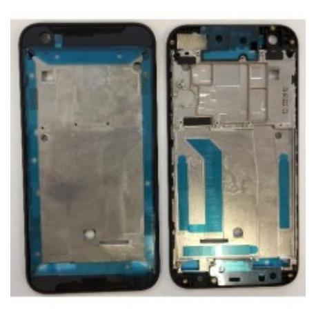 CARCASA FRONTAL DE LCD PARA HTC DESIRE 830 - NEGRA