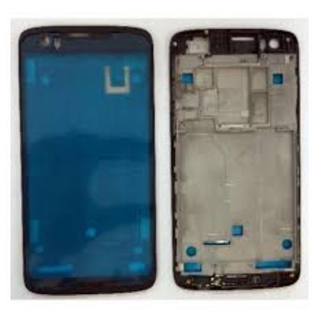 CARCASA FRONTAL DE LCD PARA HTC DESIRE 828 - NEGRA