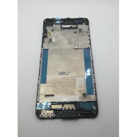 CARCASA FRONTAL DE LCD PARA HTC DESIRE 825 - NEGRA