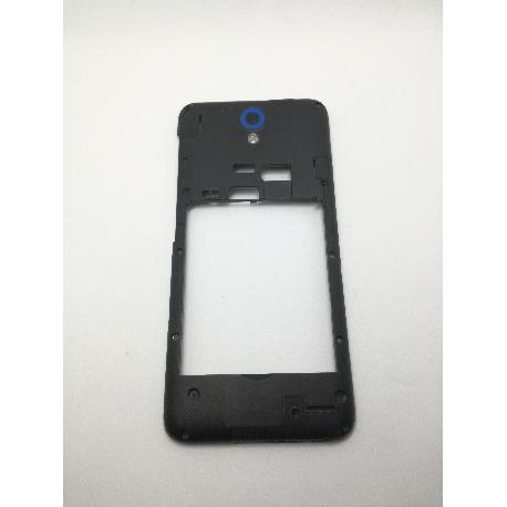 CARCASA INTERMEDIA CON LENTE AZUL ORIGINAL HTC DESIRE 620 - RECUPERADA