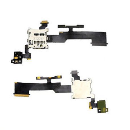 FLEX DE CONEXION ORIGINAL HTC ONE M8 - RECUPERADOFLEX SD, ENCENDIDO Y SENSOR DE PROXIMIDAD ORIGINAL HTC ONE M8 - RE