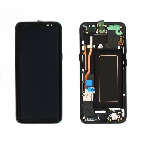 PANTALLA DISPLAY LCD+TACTIL CON MARCO ORIGINAL PARA SAMSUNG SM-G950F GALAXY S8 - NEGRA