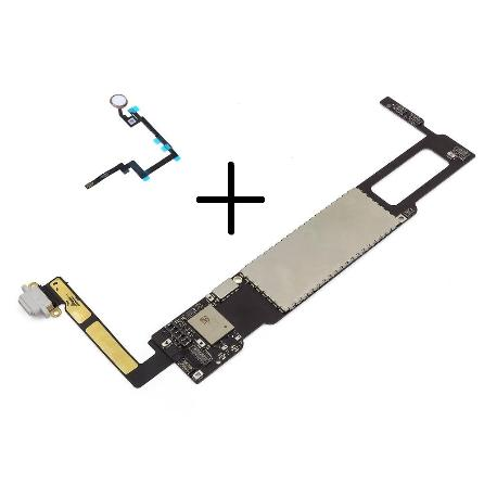 PLACA BASE ORIGINAL MOTHERBOARD IPAD MINI 3 16GB 4G A1600 ( CON BOTON HOME BLANCO ) - RECUPERADA
