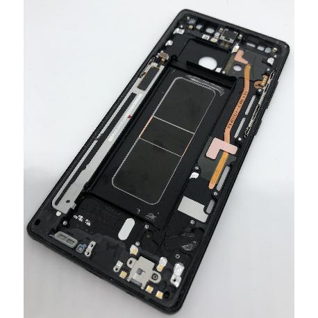CARCASA FRONTAL LCD PARA SAMSUNG NOTE 8 - NEGRA - DESMONTAJE