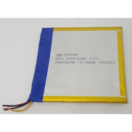 BATERIA ORIGINAL PARA LOGICOM L-ITE TAB 870 LTE - RECUPERADA