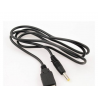 Cable Datos USB para Tablet de 3.5mm 5v 2A Negro