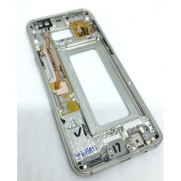 CARCASA FRONTAL LCD PARA SAMSUNG S8 PLUS - PLATA - DESMONTAJE