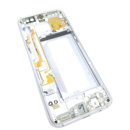 CARCASA FRONTAL LCD PARA SAMSUNG S8 PLUS - LILA - DESMONTAJE