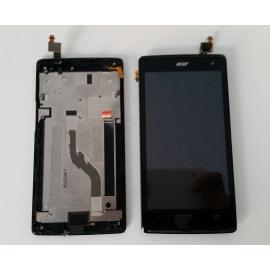 Repuesto Pantalla Lcd Display + Tactil con Marco Original Acer Liquid Z5 Negra de Desmontaje