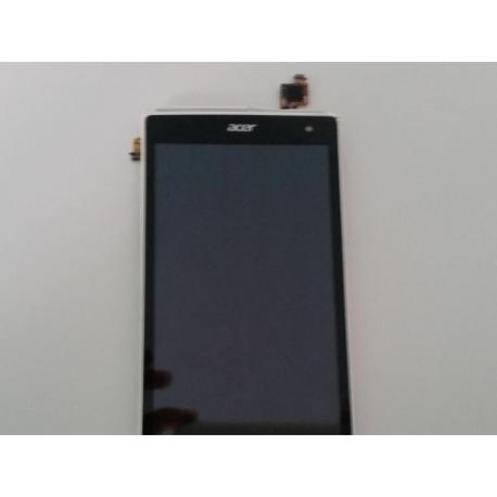 Repuesto Pantalla Lcd Display + Tactil con Marco Original Acer Liquid Z5 Blanca de Desmontaje