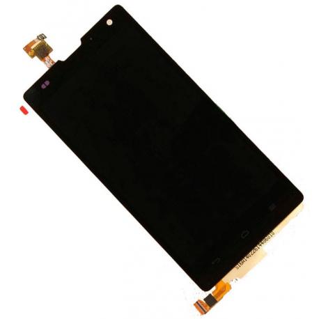 Pantalla Lcd + Tactil Huawei G740 Orange Yumo Negra