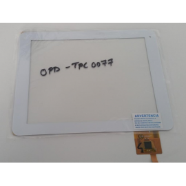 "Pantalla Tactil Universal Tablet china 8"" OPD-TPC0077 Blanco"