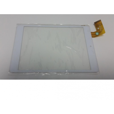 "Pantalla Tactil Universal Tablet china 8"" FPC-CY785072(C8037)-01 Blanca"