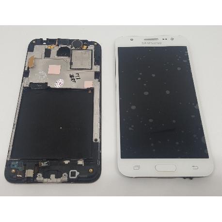 PANTALLA LCD DISPLAY + TACTIL CON MARCO ORIGINAL PARA SAMSUNG GALAXY J5 SM-J500F BLANCA - RECUPERADA