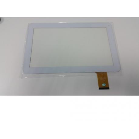 """Pantalla Tactil Universal Tablet china 10.1"""" DH-1019A1-PG-FPC075 Blanca"""