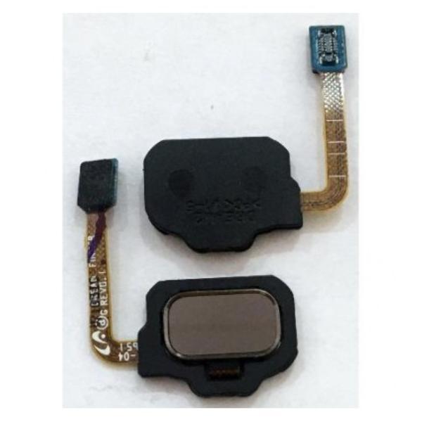 FLEX BOTON HUELLA DACTILAR TRASERO PARA SAMSUNG GALAXY S8 G950F, S8+ PLUS G955F  - ORO