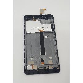 PANTALLA LCD DISPLAY + TACTIL CON MARCO ORIGINAL PARA ELEPHONE P8 MINI NEGRA - RECUPERADA