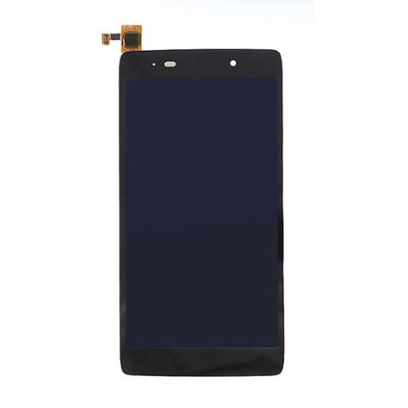 REPUESTO PANTALLA TACTIL + LCD DISPLAY PARA ALCATEL ONE TOUCH IDOL 3 OT-6039 DE 4.5 PULGADAS - NEGRA