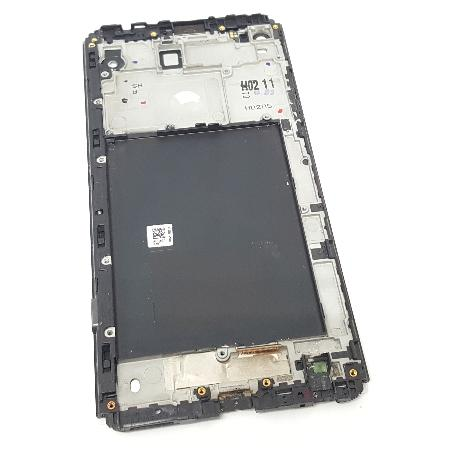 PANTALLA LCD DISPLAY + TACTIL CON MARCO ORIGINAL PARA LG V20 H990DS NEGRA - RECUPERADA
