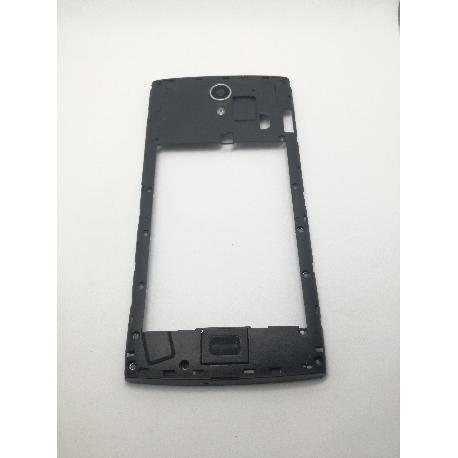 CARCASA INTERMEDIA ORIGINAL PARA ALCATEL M812 ORANGE NURA - RECUPERADA