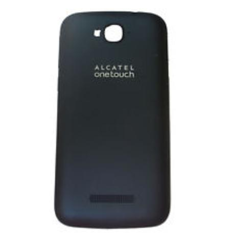 TAPA TRASERA ORIGINAL ALCATEL ONE TOUCH POP C5 5036 5036A AZUL - RECUPERADA
