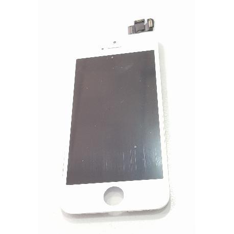 73ca9aba Pantalla Completa Con Marco Original Para Iphone SE - Blanca - Recuperada