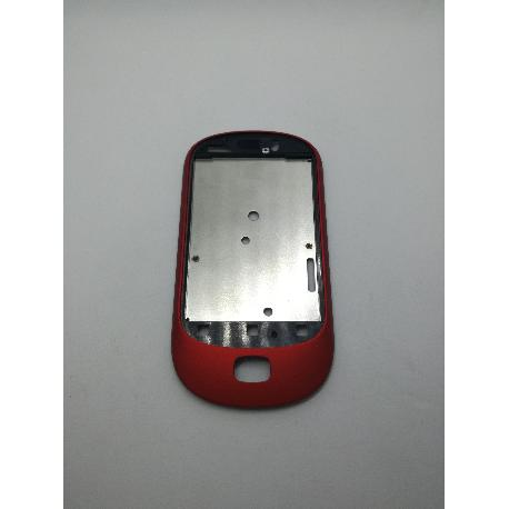 MARCO FRONTAL ROJO ALCATEL OT-908