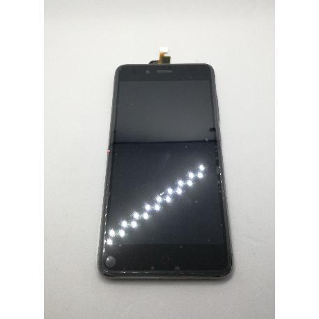 PANTALLA LCD DISPLAY + TACTIL CON MARCO ZTE NUBIA Z11 MINI S - NEGRA