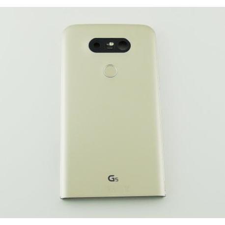 TAPA TRASERA ORIGINAL PARA LG G5 H850 - ORO - RECUPERADA