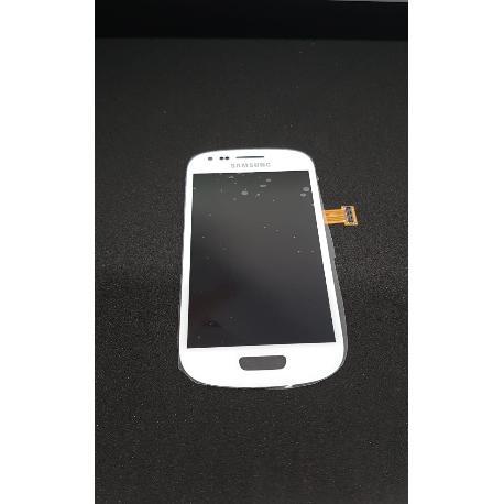 PANTALLA LCD + TACTIL ORIGINAL SAMSUNG GALAXY S3 MINI I8190 I8200 - BLANCA / DESMONTAJE