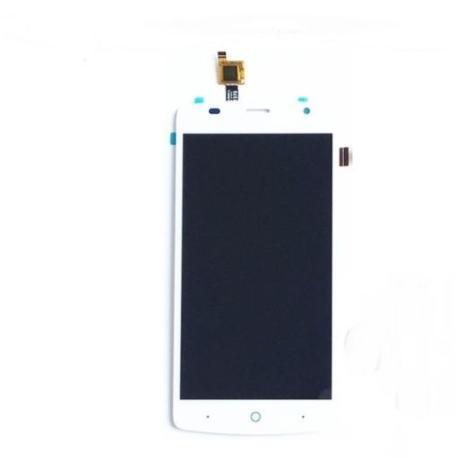 PANTALLA LCD DISPLAY + TACTIL CON MARCO ORIGINAL ZTE BLADE L5 PLUS BLANCA - RECUPERADA