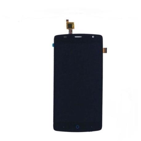 PANTALLA LCD DISPLAY + TACTIL CON MARCO ORIGINAL ZTE BLADE L5 PLUS NEGRA - RECUPERADA